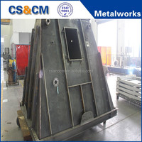 price for structural steel fabrication work