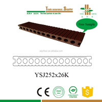 GARDEN FLOORING/WOOD PLASTIC COMPOSITE DECKING/DOG KENNEL
