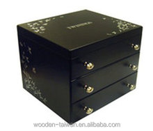 Unisex , ladies wooden cosmetic box