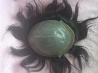 Elegant-wig cheap thin skin 140 % density lace front indian men hair toupee wig