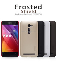 For asus zenfone 2 Nillkin Frosted Shield hard plastic back cover Phone Case for asus ZE500CL