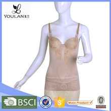 Low Price Breathable Female Ribbon Plus Size Long Corsets