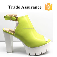 Latest Chunky High Heel/ Ladies Sandals/Women Shoes