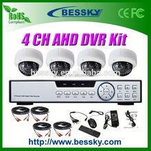 1.0/1.3 Megapixel HD CCTV Camera kit ahd cctv tester 2.8-12mm Manual Zoom Lens