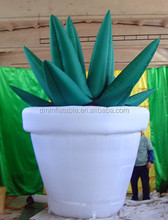 Customize Party inflatables flower advertising promotion activity/ advertising inflatable aloe