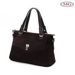 Business Messager style women handbags and purse, original leather bags china wholesale