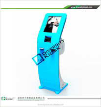 kiosk magnetic card dispenser greyhound ticket delivery