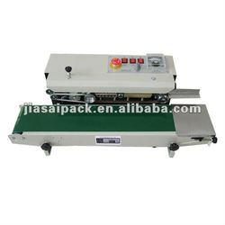 Plastic container sealer FRD900 bag heat sealer Horizontal continuous bag sealer