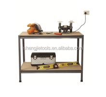 piano di lavoro garage pesanti magazzino utensili tavolo da lavoro in acciaio scaffalature