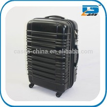 2013 Popular hard shell pc or abs travel luggage bags