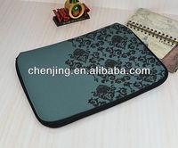 11 inch neoprene laptop sleeve with double zipper