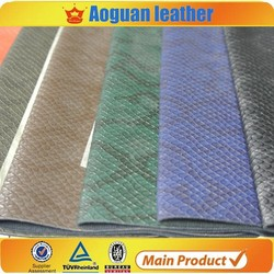good quality artificial leather for ladies shoe and bags women A1352