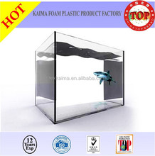 KAIMA factory HOT SALE 100% virgin PMMA 2--200mm thickness aquarium fish for sale/tropical fish aquarium for sale