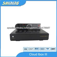 iBox iBox software en la nube receptor 3 satellite Descarga hd nube doble sintonizador jugador 3 medios
