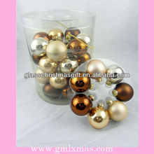Hollow Christmas Glass Ball Craft decor in 2015 year,indoor barrelled christmas glass ball,Trade Assurance supplier