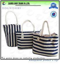good quality reusable flax shopping bag handbag