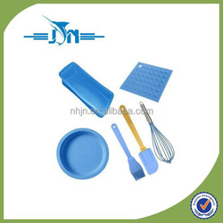 custom made high quality product rubber silicon baking set