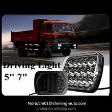 High power LED light for truck /offroad/ head/ flood lamp , 7inch 45w led TRUCK HEAD LIGHT