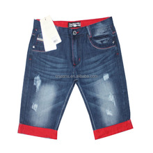 GZY Stocklot 2015 short man jeans straight leg jeans