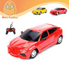 1:16 4 CH RC Car with LED lights remote control toy car rc buggy car