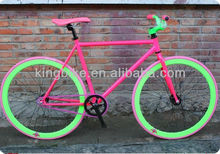"""2015 700C new products 26"""" aluminum alloy fixed gear bike for sports 45"""