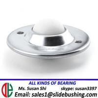 non-skid pu swivel caster wheels roller ball bearing large hollow plastic balls zhejiang/guangzhou heavy duty ball transfer unit