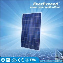 EverExceed 285w Polycrystalline Solar Panel for grid-on/off solar system