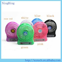 NB-008 Hot selling mini fan rechargeable usb fan use for power bank or computer