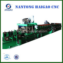 The New High Speed CNC Cut C Steel roll forming machine/sheet metal roofing tile