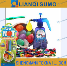 WATER BOMB TERM SET W/72 PCS WATER BALLOONS AND 2PCS SIMPLE WATER BALLOON TYING TOO /2PCS QUICK-FILL LOADER
