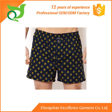 Hot selling good quality comfortable men sexy latex boxer shorts