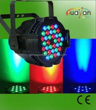 Good quality aluminum housing 36x3w rgb led par 64 party light,festival,club,dj,disco,wedding etc