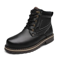 fashion winter high quality fur cheap shoes boots men 2014