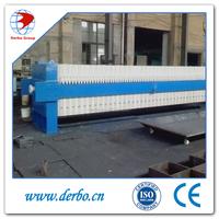 Low cost sludge filter press