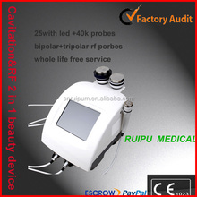 2 in 1 bio & Cavitation & Vacuum & RF cavitation