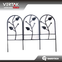 A wide range operation perfect quality metal garden fence lawn edging