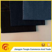 indigo/blue/black denim fabric factory stretch