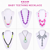 New Fashion Style Kean Silicone Teething Necklace/Chunky Bead Necklace