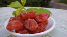 Chinese dried fruit, dried cherry plum