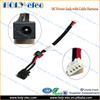 DC Power Jack Socket And Cable Wire For Toshiba Satellite L650 L655 L655D Satellite Pro A200 A300 (PJ130)