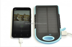 Most popular 5000mah rechargeable solar portable charger waterproof