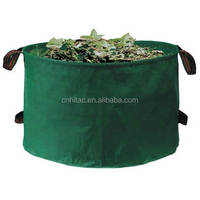 Garden PE Woven Popular Tip Bag ,Popular Leaf Collector Bag
