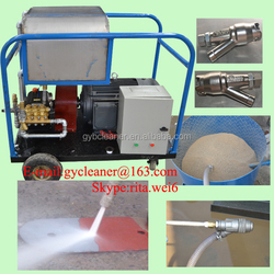 Paint rust remove sandblaster 500bar high pressure water jet blaster