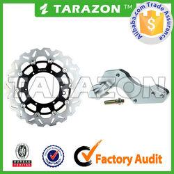 oversize front floating supermoto motorcycle disc brake rotor 320mm