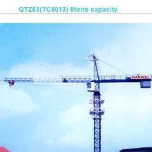 6 toneladas <span class=keywords><strong>grúa</strong></span> <span class=keywords><strong>torre</strong></span> QTZ63 (TC5013)