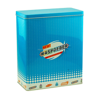 useful nice metal container for washing powder powder