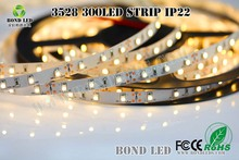 Holiday sale free shipment 5m/roll 3528 auto led strip 3528 led strip waterproof