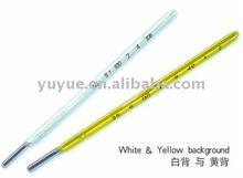 el mercurio de vidrio del termómetro ISO13485