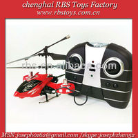 double propeller infrared control 4 channel flying model helicopters