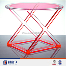 Eco-friendly colored cheap acrylic children table and chairs